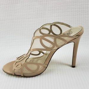 Adrianna Papell  Slide in High Heels sz 7M EUR 37